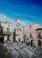"""""""Chiesa Santa Maria della Pietà"""" - 2014 - (centro storico denominato """"U' Cavut"""") Cagnano Varano (FG) (Collezione Privata - Cagnano V.)"""