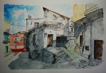 """Lu Vucculicchi"""" - 2014 - centro storico - Carpino (FG)"""