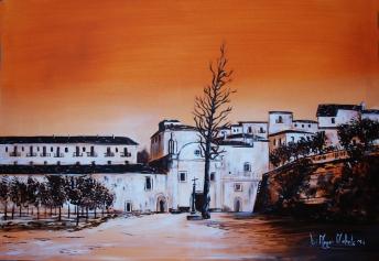 """""""Chiesa di San Francesco - anno 1812"""" - 2014 - centro storico - Ischitella (FG)"""