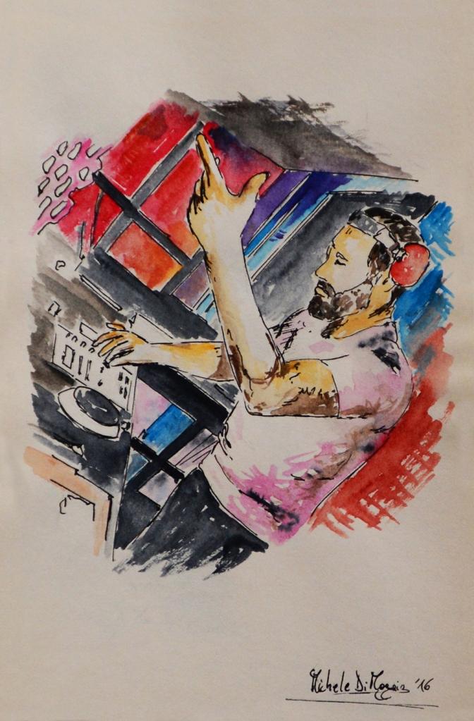 """""""Il richiamo musicale"""" - 2016 - (Collezione Privata - Parma)"""