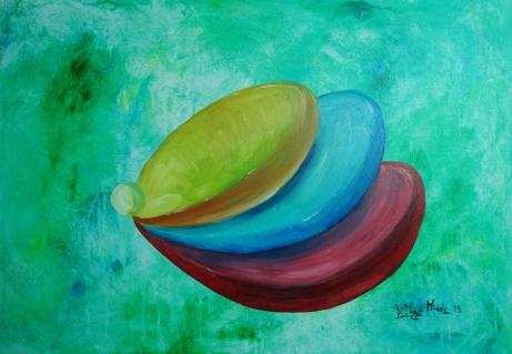 """""""L'Equilibrio di Iris"""" - 2013 - (Collezione Privata - Giussano (MB))"""